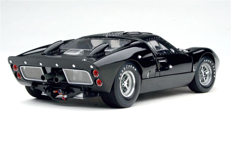 exoto 1966 67 exoto ford gt40 mk ii 1966 works prototype in authentic black
