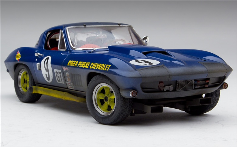 Exoto - 1966-67 Exoto Corvette Sting Ray Competition - Class Winner