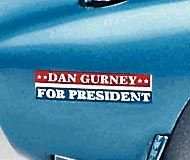 By July 1964, Dan Gurney's presidential campaign had reached international proportions.