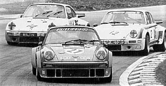 Easily distinguished by its deep, aggressive front spoiler, the 934 consistently led its 911 RS siblings, as well as the competition, to the finish line.