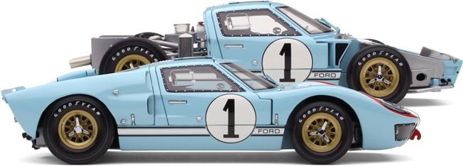 Exoto - 1966-67 Exoto Ford GT40 Mk II