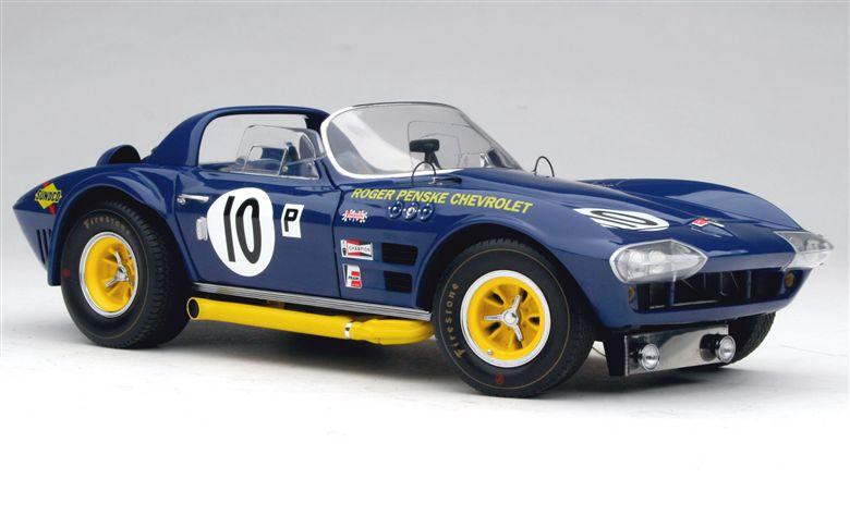 Exoto - 1964-66 Exoto Corvette Grand Sport Roadster - 1966 Sebring