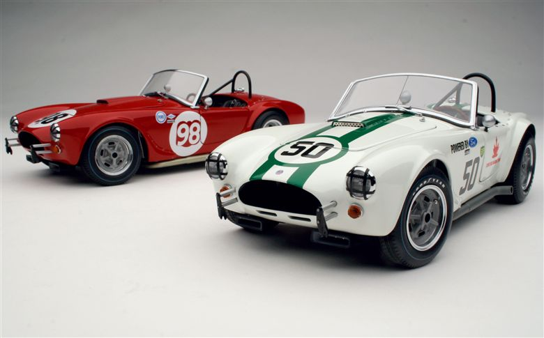 Exoto - 1963-65 Exoto AC Cobra in Competition Overview