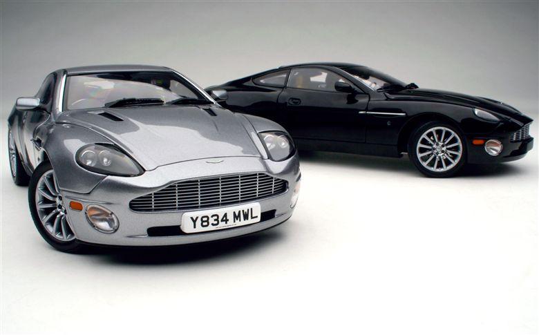 Exoto 2003 Exoto Aston Martin Vanquish Overview